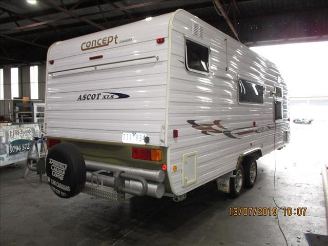 2008  Concept Ascot XLS, ...SOLD....21' Tandem Tourer, Queen Bed, Big Fridge, Separate Shower and Toilet.....