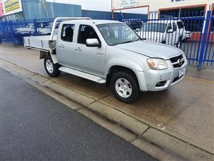 2010 MAZDA BT-50 BOSS B3000 SDX (4x4) 09 UPGRADE DUAL CAB P/UP