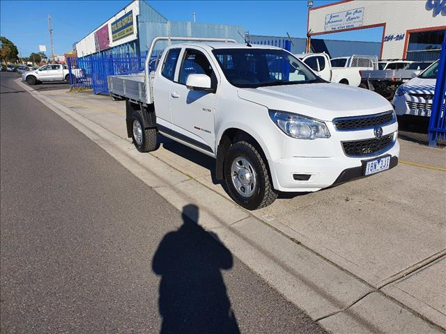 2013 HOLDEN COLORADO LX (4x4) RG MY14 SPACE C/CHAS