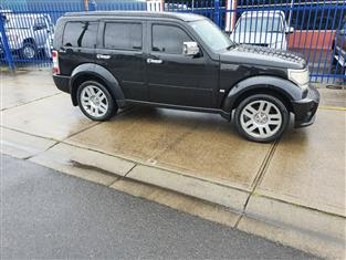 2009 DODGE NITRO SXT KA MY08 4D WAGON