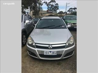 2006 HOLDEN ASTRA CD AH MY07 4D WAGON