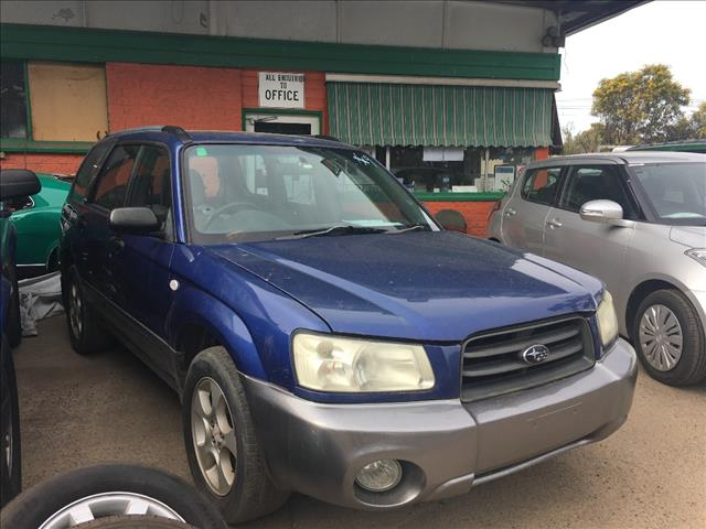 2003 SUBARU FORESTER XS MY03 4D WAGON