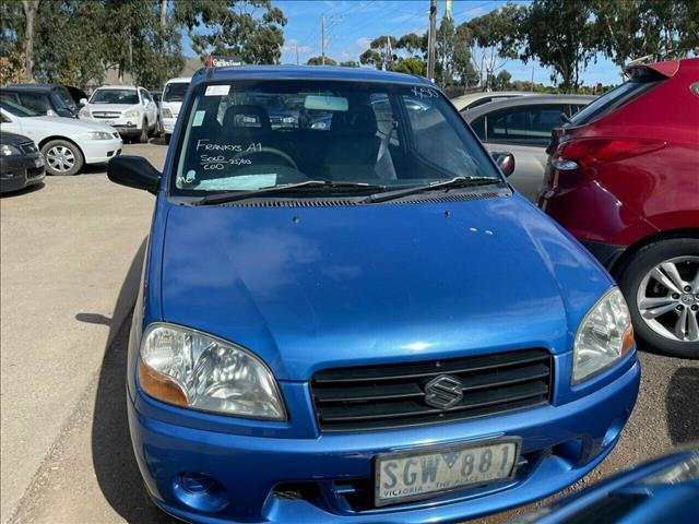 2003 Suzuki Ignis GA