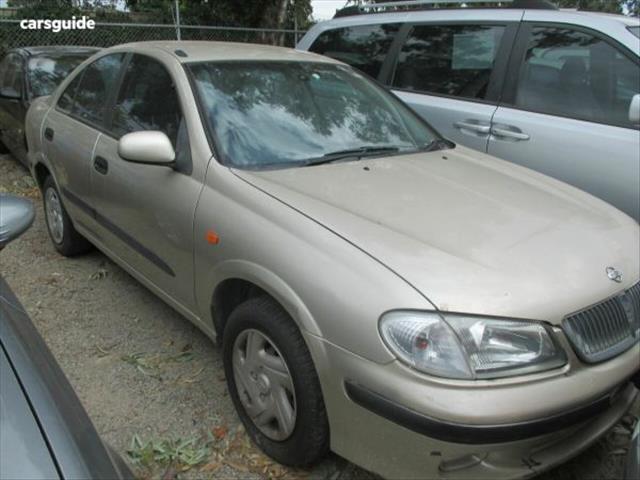 2002 NISSAN PULSAR Q N16 4D SEDAN