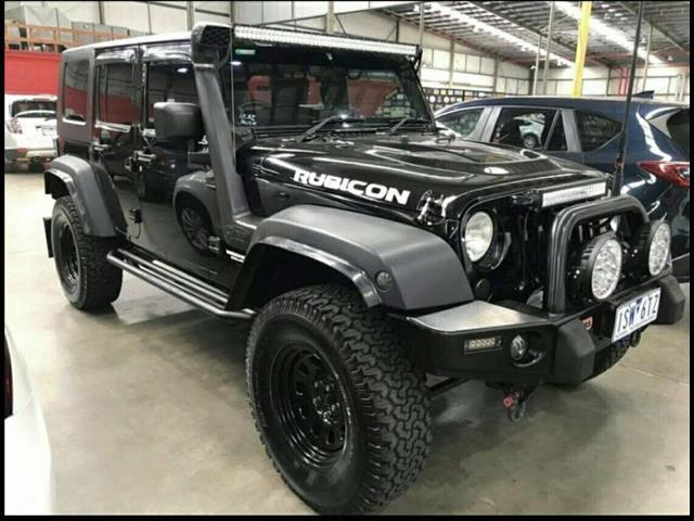 2008 Jeep Wrangler Unlimited Rubicon (4X4)