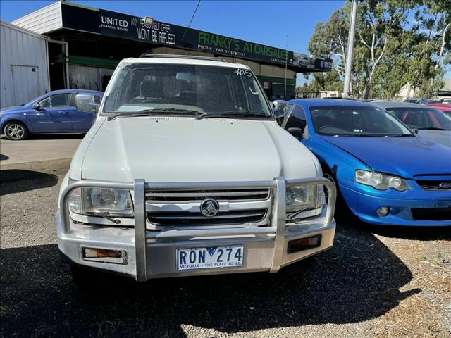 2002 Holden Jackaroo Equipe