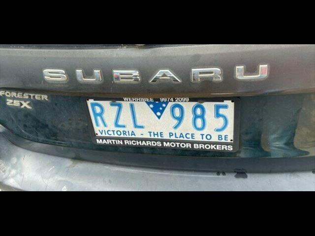 2002 Subaru Forester X