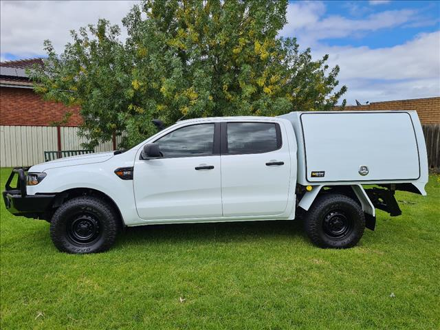 2017 FORD RANGER XL 3.2 (4x4) PX MKII MY17 CREW C/CHAS