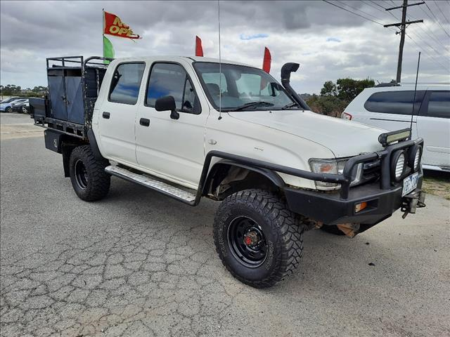 2000 TOYOTA HILUX (4x4) LN167R DUAL CAB P/UP