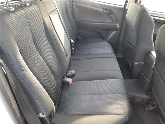 2016 ISUZU D-MAX SX HI-RIDE (4x2) TF MY15 CREW CAB UTILITY