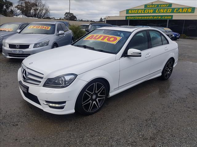 2012 MERCEDES-BENZ C250 AVANTGARDE BE W204 MY12 4D SEDAN