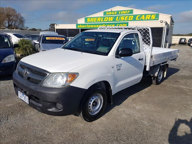 2005 TOYOTA HILUX WORKMATE TGN16R C/CHAS