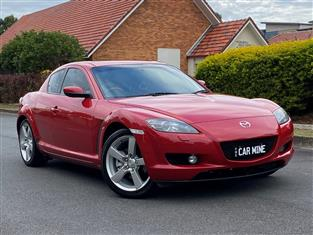 2004 MAZDA RX-8 4D COUPE
