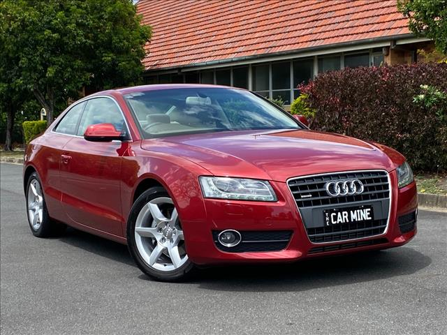 2012 AUDI A5 2.0 TFSI QUATTRO 8T MY12 2D COUPE