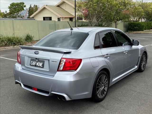 2012 SUBARU WRX (AWD) MY12 4D SEDAN