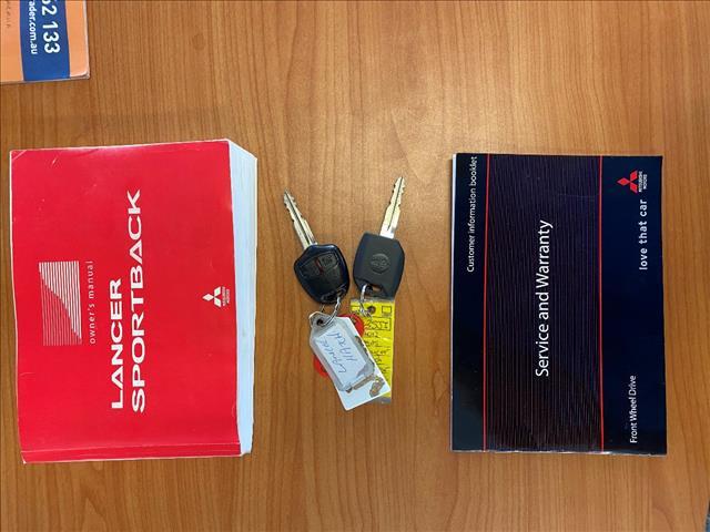 2012 MITSUBISHI LANCER ACTIV SPORTBACK CJ MY12 5D HATCHBACK