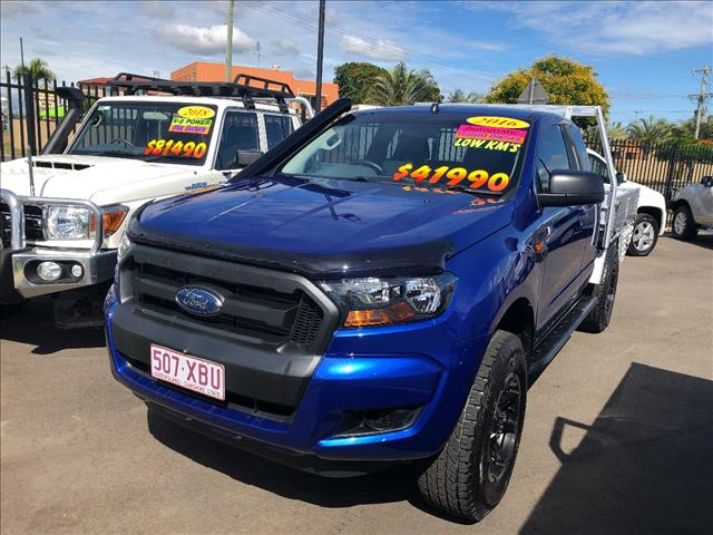 2016 FORD RANGER XL 3.2 (4x4) PX MKII MY17 SUPER CAB CHASSIS