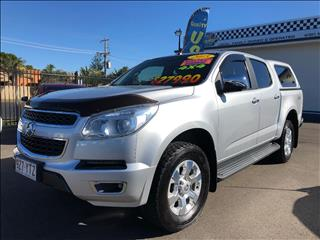 2015 HOLDEN COLORADO LTZ (4x4) RG MY15 CREW CAB P/UP