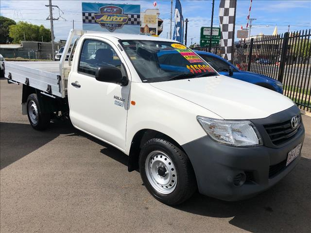 2015 TOYOTA HILUX WORKMATE TGN16R MY14 C/CHAS