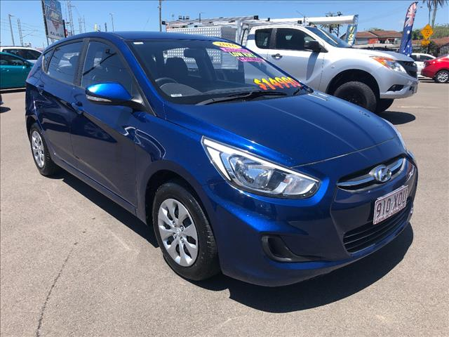2016 HYUNDAI ACCENT ACTIVE RB3 MY16 5D HATCHBACK