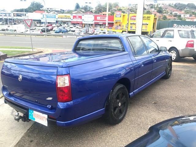 2004 Holden Crewman VZ S Ute