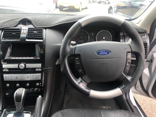 2007 Ford Fairmont Ghia BF MKII Sedan