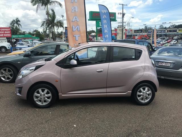 2002 Holden Barina Spark MJ MY11 CD Hatch