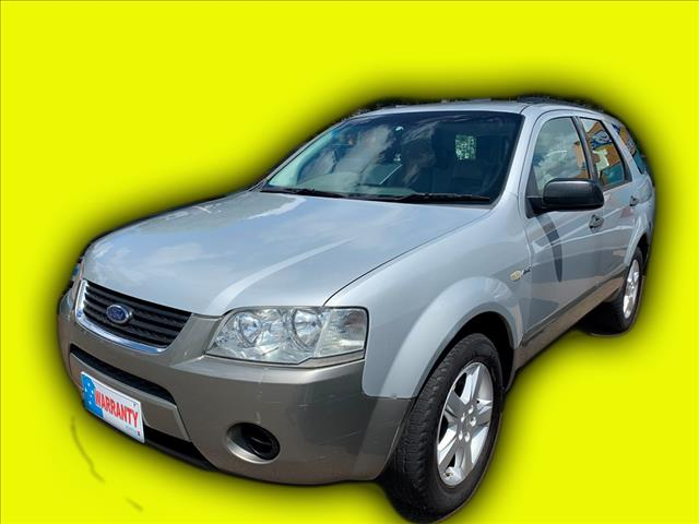 2007 Ford Territory SY TS 4x4 Wagon