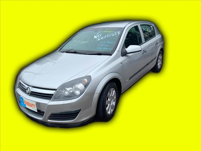 2006 Holden Astra AH MY06 CD Hatch