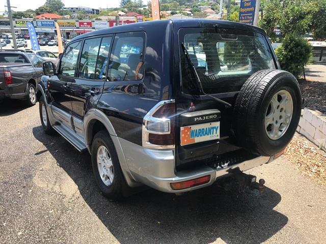 2001 Mitsubishi Pajero NM Exceed Wagon