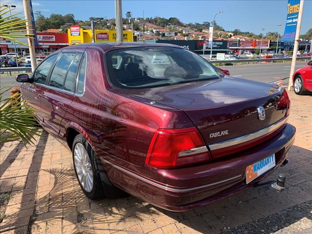 2001 Ford Fairlane AUII Ghia Sportsman Sedan