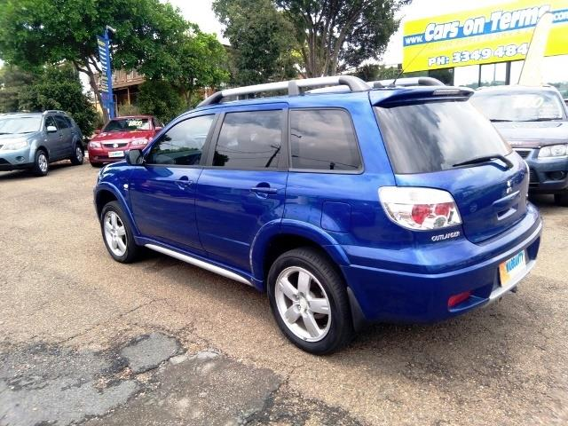 2006 Mitsubishi Outlander VR ZF MY06 Sports Wagon