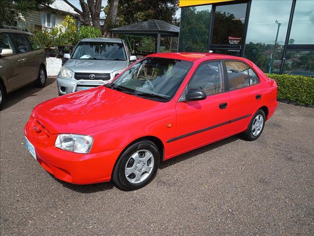 2002 Hyundai Accent GL Hatch