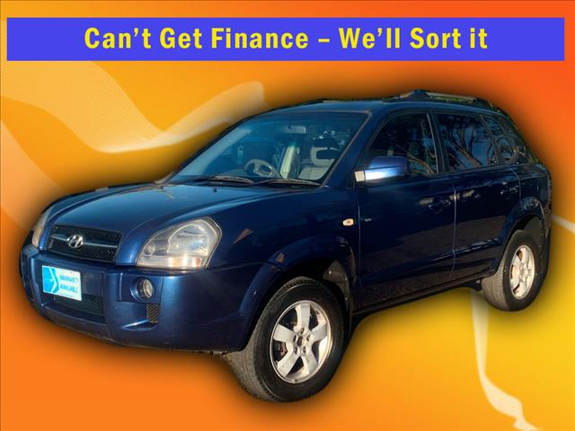2007 Hyundai Tucson City Wagon