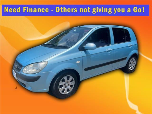 2009 Hyundai Getz S TB MY09 Hatch