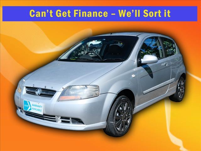 2007 Holden Barina TK MY07 Hatch