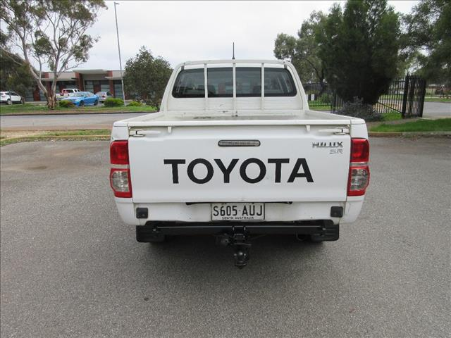 2012 TOYOTA HILUX WORKMATE (4x4) KUN26R MY12 DUAL CAB P/UP