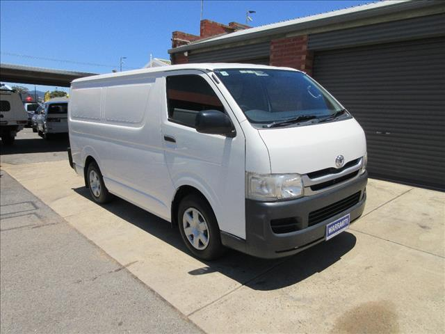 67772280cb Used 2009 TOYOTA HIACE SLWB KDH221R MY07 UPGRADE 4D VAN for sale in Gilles  Plains