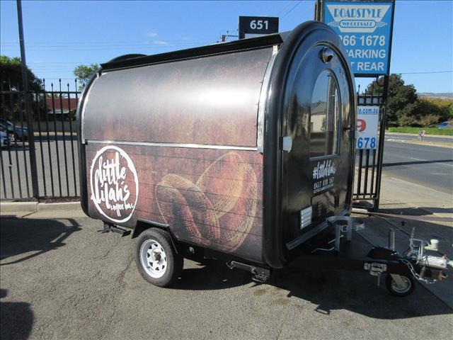 MOBILE COFFEE and FOOD CATERVAN TRAILER
