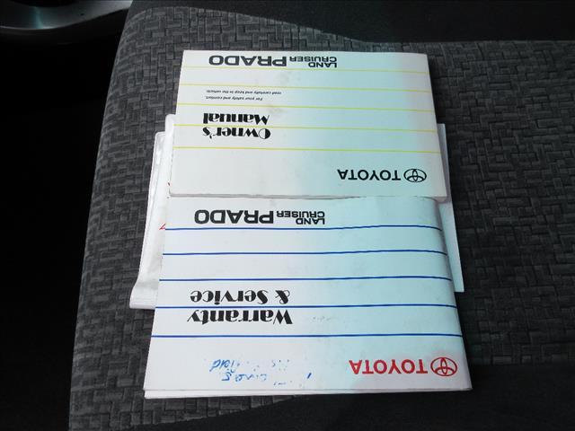2007 TOYOTA LANDCRUISER PRADO GXL (4x4) KDJ120R 07 UPGRADE 4D WAGON