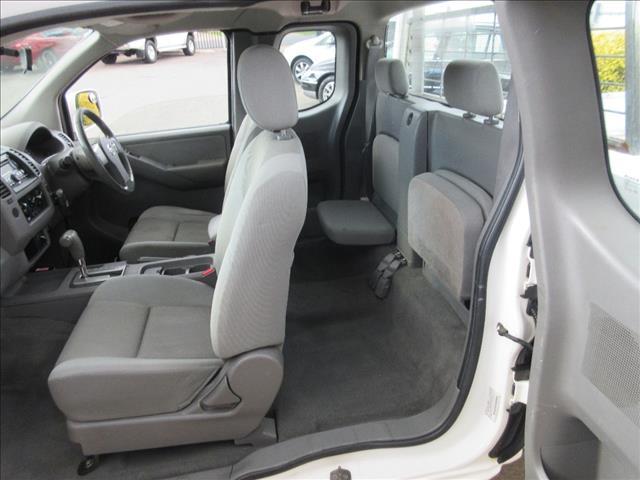 2008 NISSAN NAVARA ST-X (4x4) D40 KING C/CHAS