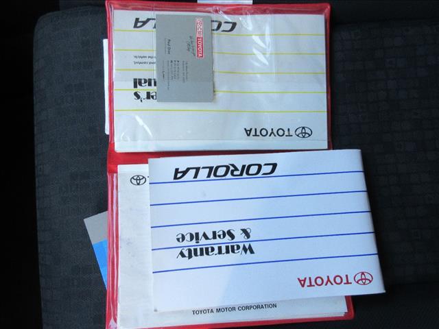 2003 TOYOTA COROLLA ASCENT SECA ZZE122R 5D HATCHBACK
