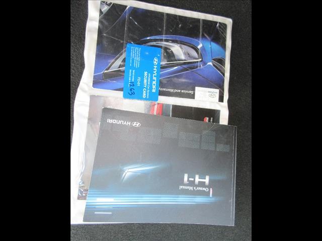 2011 HYUNDAI iMAX TQ MY11 4D WAGON