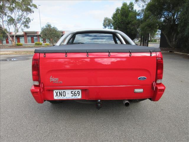 2001 FORD FALCON XR6 VCT AUII UTILITY