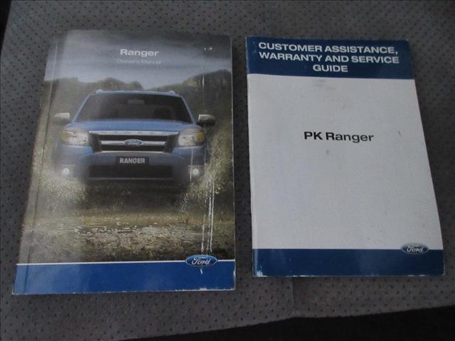 2011 FORD RANGER WILDTRAK (4x4) PK DUAL CAB P/UP
