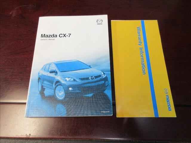 2009 MAZDA CX-7 LUXURY (4x4) ER 4D WAGON