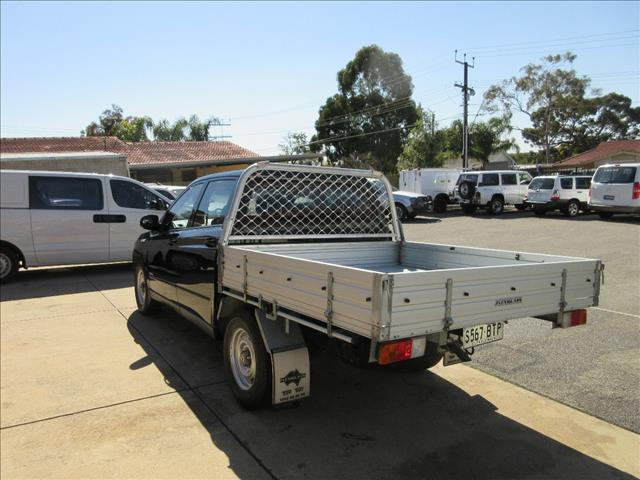 2011 SSANGYONG ACTYON SPORTS TRADIE Q100 MY08 DOUBLE CAB UTILITY