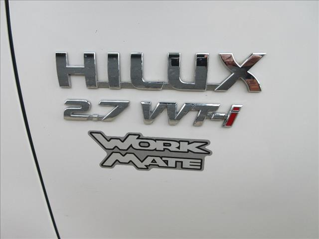 2010 TOYOTA HILUX WORKMATE TGN16R MY11 UPGRADE C/CHAS