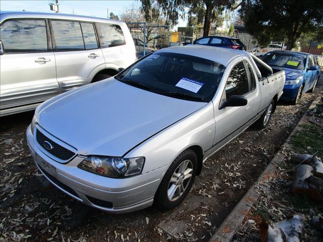 Ford Falcon BF1 ute XL LPG 2/2006 (Wrecking)