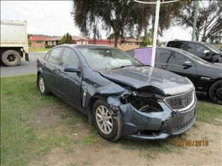 Holden Commodore VF Evoke sedan 4/2014 color grey (WRECKING)
